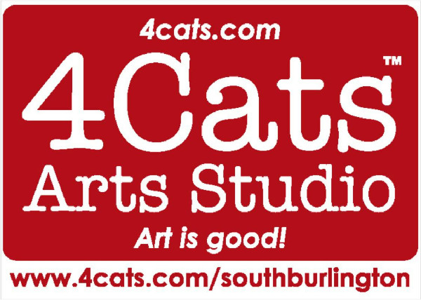 4 Cats Art Studio - South Burlington